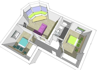 2 Bed Apartment near to beach - Bournemouth - Apartment