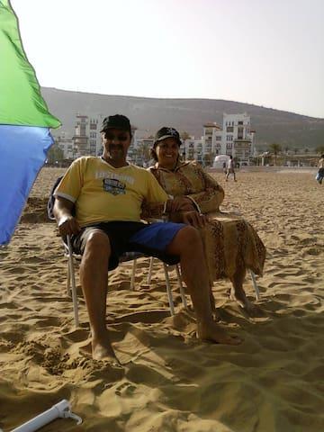 LOVELY FAMILY HOUSE NEARBY BEACHES  - Agadir - Haus