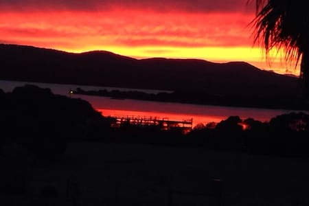 Lake view caravan - Mallacoota