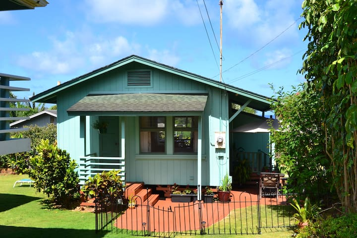 Ocean view Cottage - Kapaa - Huis