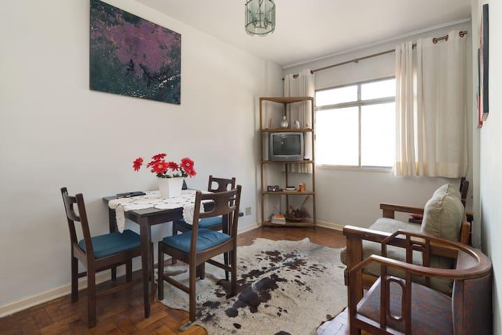 2-Bedroom Flat @Metro Butanta & USP