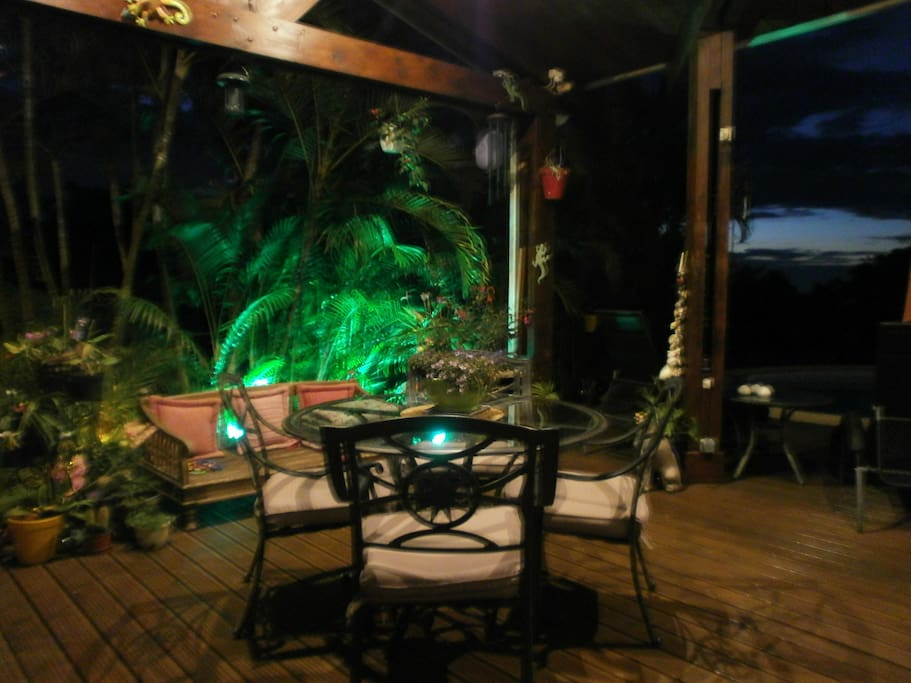 ambiance d'un soir tropical