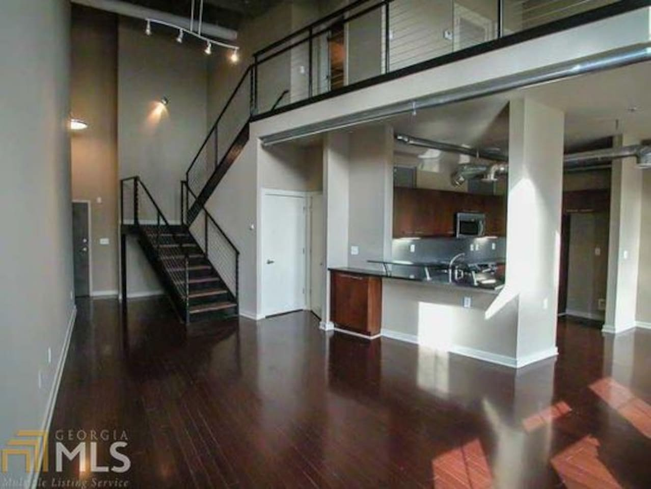 Kitchen and Stairs to Upstairs (upstairs off limits)