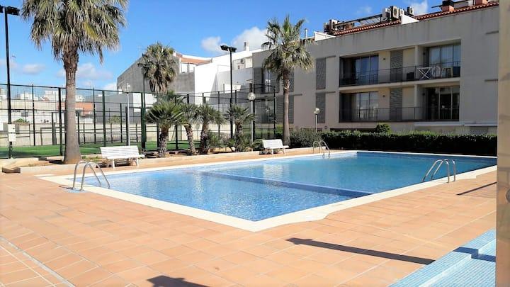 Ciutadella de Menorca ático con piscina
