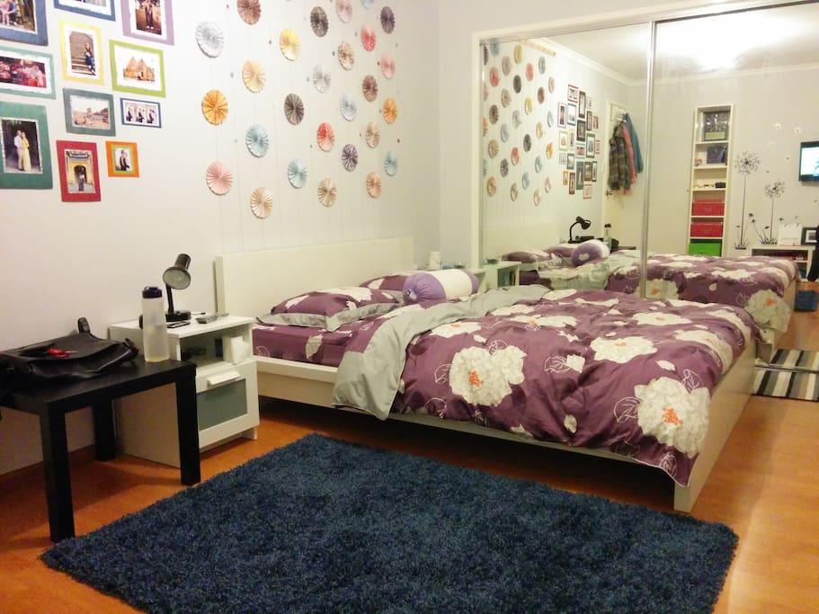 Main bedroom (not for rent)