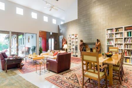 Artist's 1 Bedroom, Loft Suite in the Heights - 休斯顿
