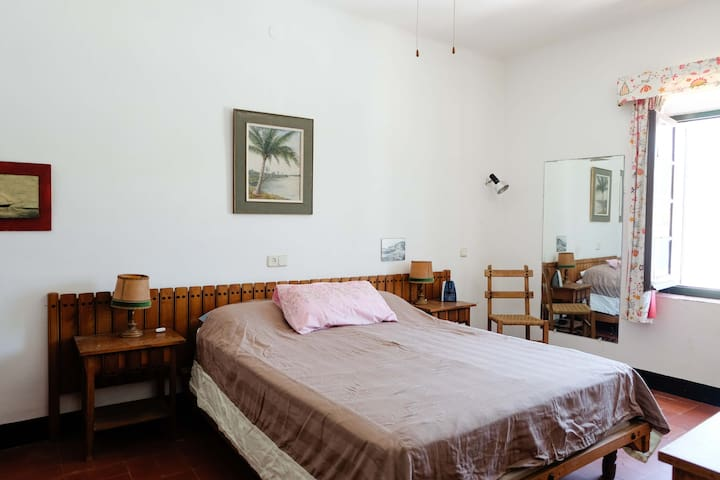 Parental suite: one double bed and private bathroom