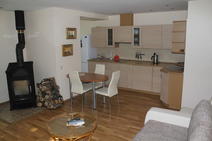 2 rooms apartments in Juodkrante - Juodkrantė - Leilighet