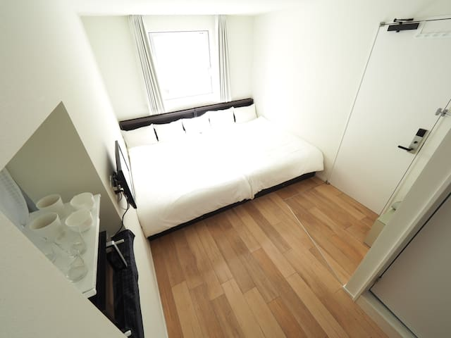 6 mins to Akiha,Family&Cozy&Design New hotel roomB