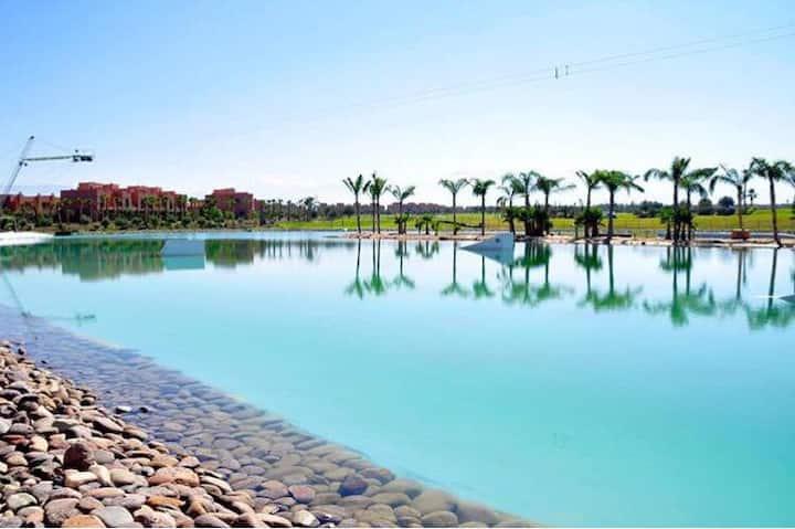 Bel appartement aux jardins de l'atlas Marrakech