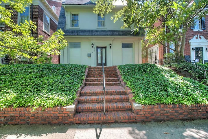 First floor apartment - 2 bedrooms 2.5 baths all on one level with private entrance