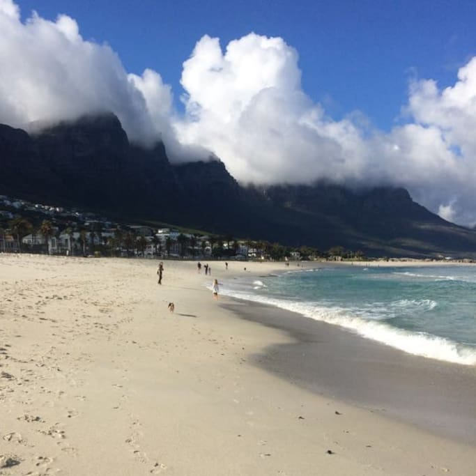 15 minutes drive to Camps Bay Beach - blue flag