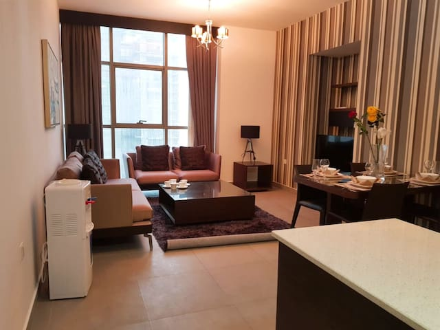 2 bedrooms flat with balcony Juffair bd 500 month