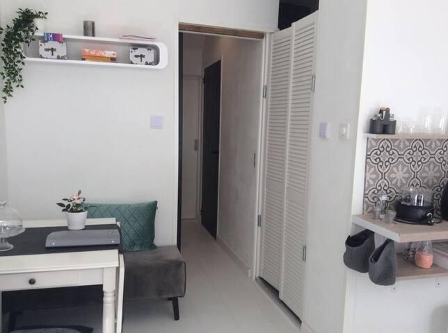 Een privé kamer in unieke boerderij