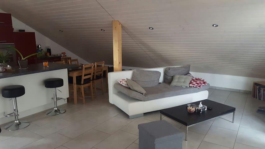 Beau Studio neuf village tranquille - Corcelles-près-Payerne - Apartament