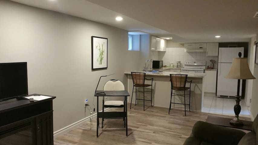 Cozy Apt near Locke , McMaster , MIP and Hospitals