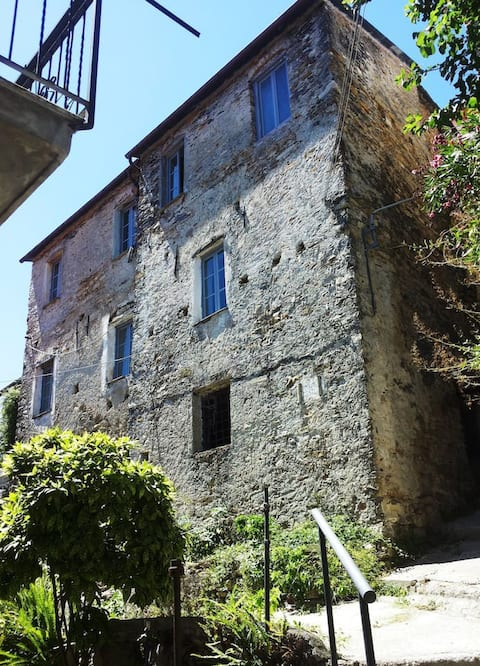 Lovely renovated apartement near Dolcedo/Imperia