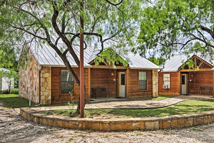 Positioned in the heart of the Texas Hill Country, this cabin is perfect!