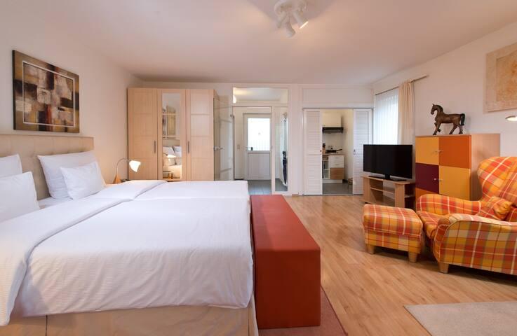 Ferienwohnung/App. für 3 Gäste mit 34m² in Arnstadt (92108)