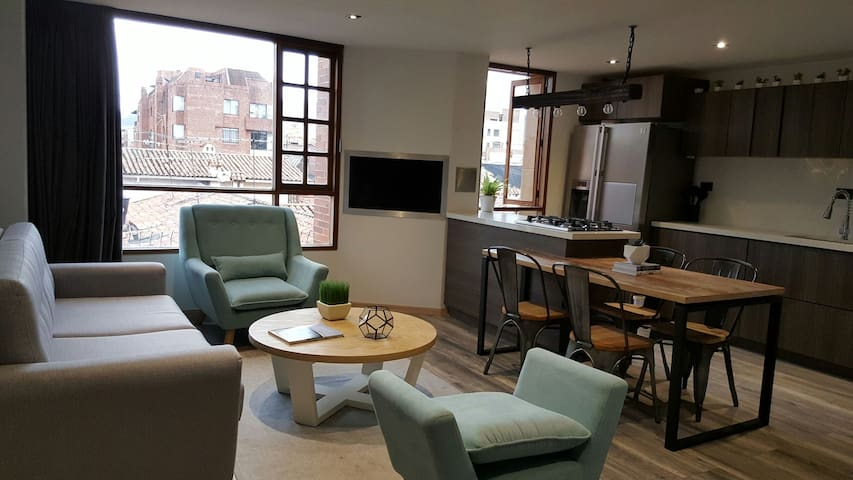 Modern/design furnished apartment - Bogotá - Apartamento