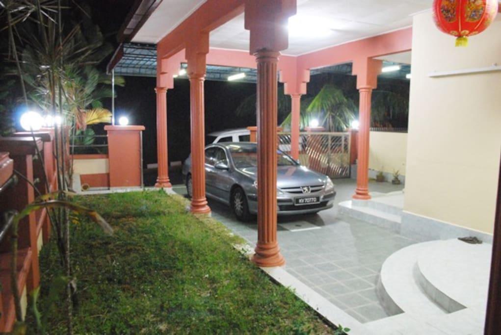 Luxury Villa's Porch