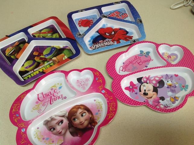 Disney dishes for the princess and super hero in you!