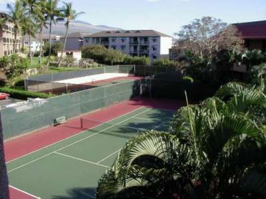 Tennis Courts at Maui Vista
