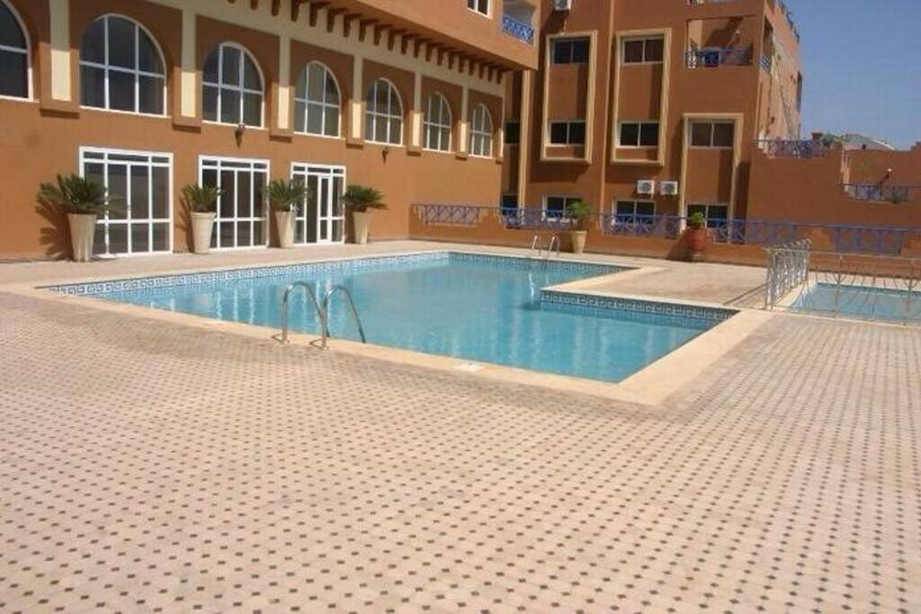Appartement avec piscine vue mer apartments for rent in for Appartement avec piscine marrakech