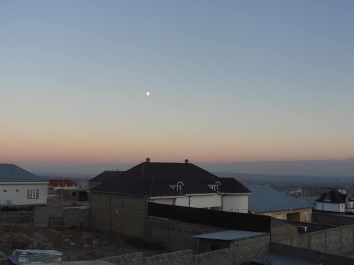 Specious house with a beautiful view on Khujand