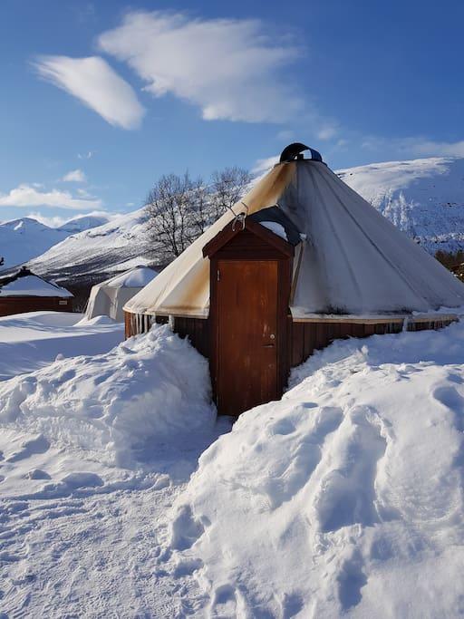 Lavvu/Sami tent