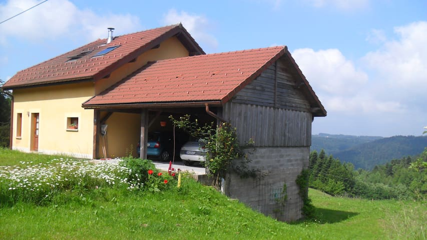 Private rooms in the heart of the Vosges - Girmont-Val-d'Ajol - Haus
