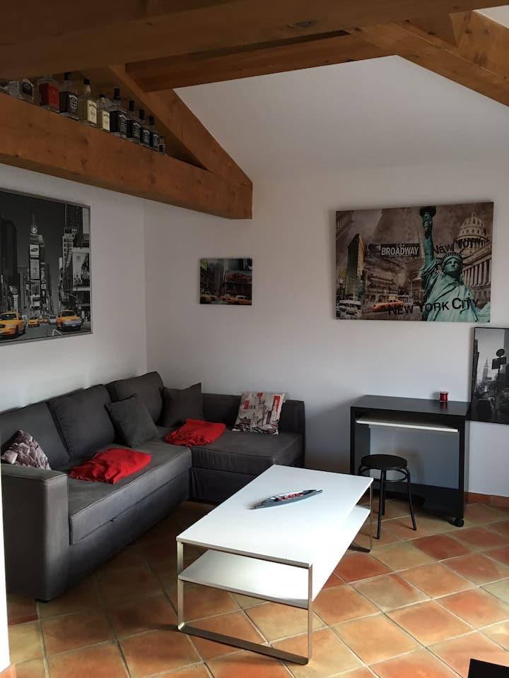 Entre Aix en Provence et salon,village provençal