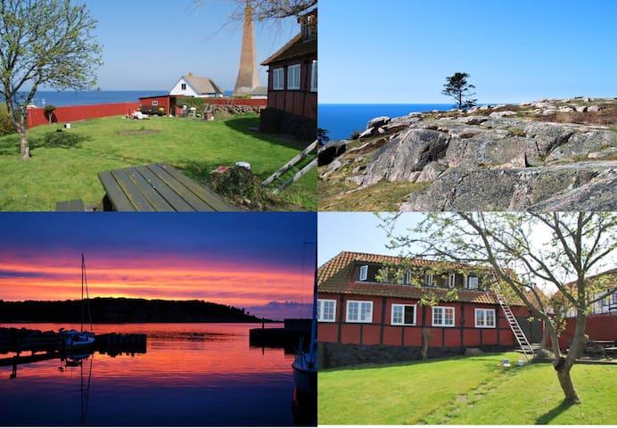 Bornholm Old Waterfront House - Allinge - Talo