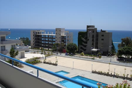 NEW Stylish 1 bedroom sea view apartment - Agios Tychon - Wohnung