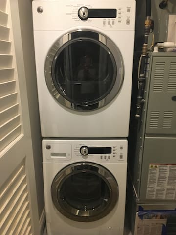Full access to own washer and dryer