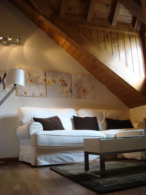 Flirty penthouse in Sallent de Gállego (Wi-Fi)