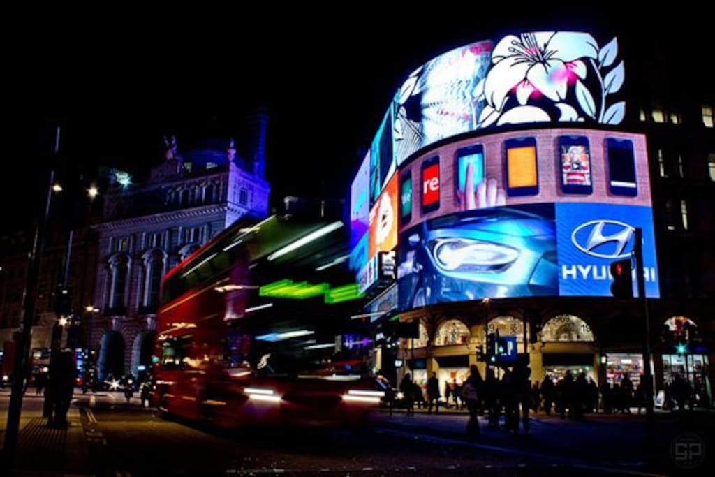 Piccadilly Circus at your door step