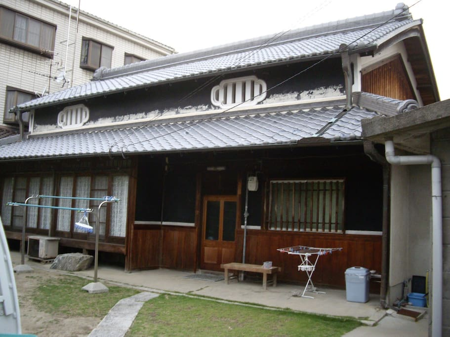 80+ years old traditional Japanese house.