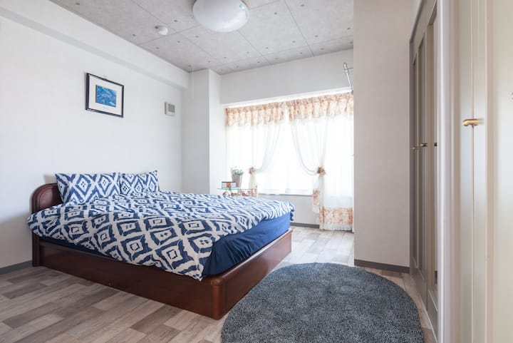 Fullequiped Familystay 2bedroom in Sappro Safearea