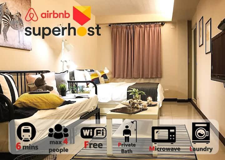 Monthly rental/101&MRTYongchun201 ~Superhost