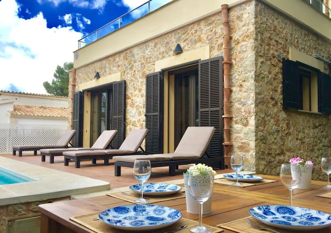 Quiet holiday home close to beach and Alcudia - Mal Pas-Bon Aire - House