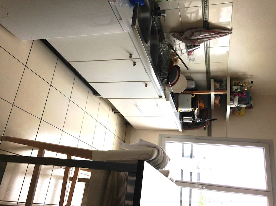 Nice modern and full equiped kitchen you can use during your stay