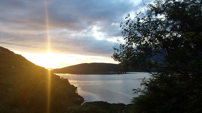 Chalet with gorgeous sea view - Ullapool - Dům
