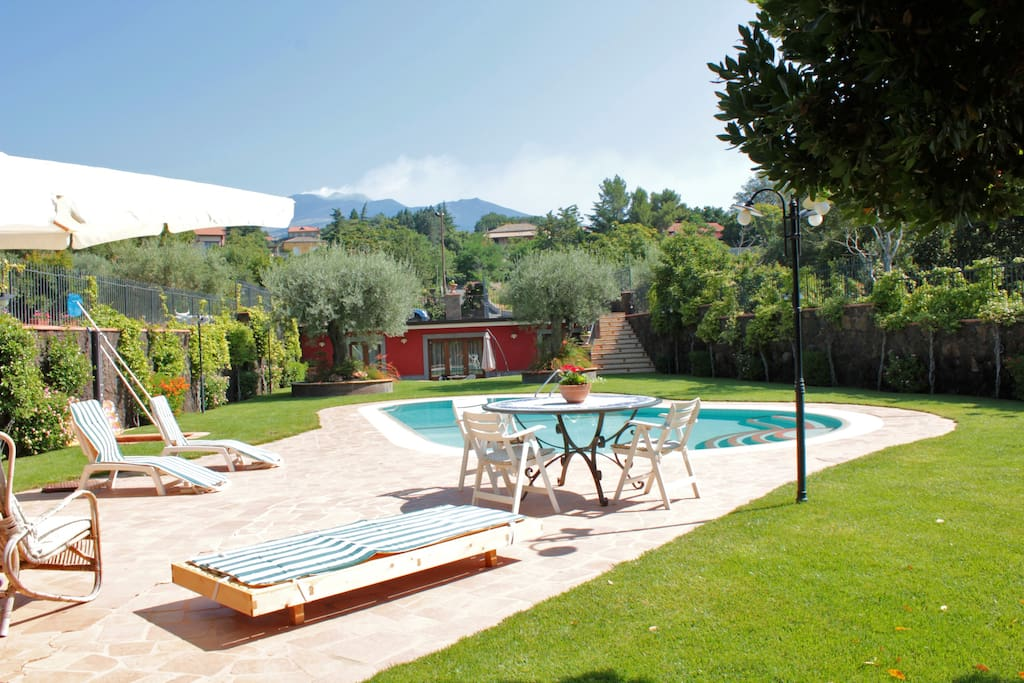 Etna House, panoramic swimming pool - Apartments for Rent ...