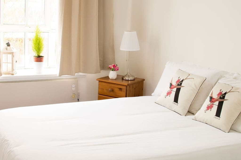 Spacious guest double room