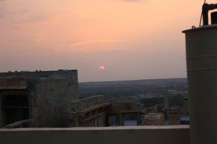 Ballani Family's House in Jaisalmer Fort!