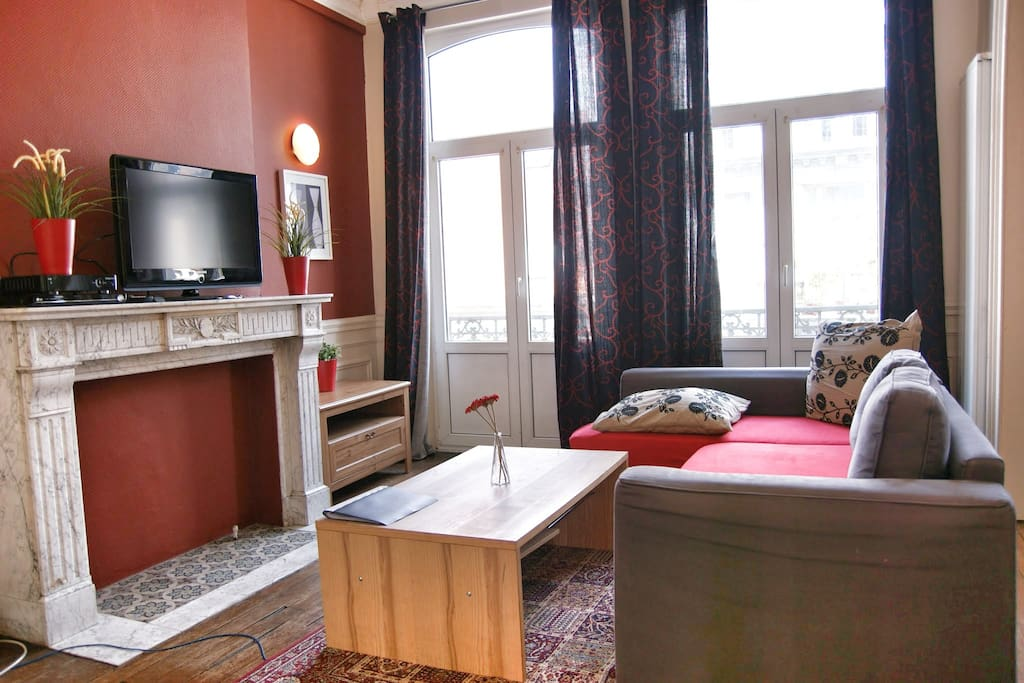 3 chambres un emplacement central appartements - Appartement a louer a bruxelles 3 chambres ...