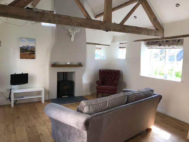 Private two storey barn conversion