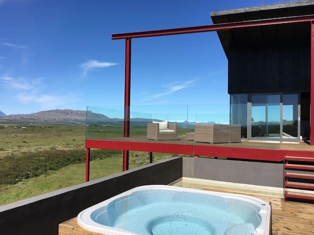 Sólfaxi Modern Luxury Villa, Amazing Panorama View