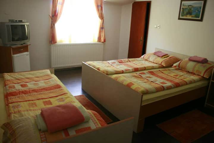 Cosy room in motel for 2 person